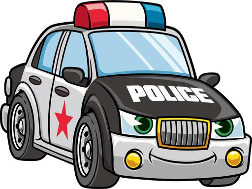 Cartoon Police Cars Puzzle