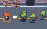 Cat Gunner vs Zombies