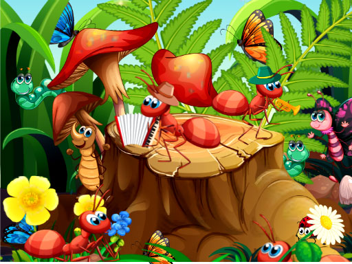 Hidden Objects Insects