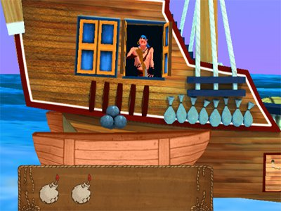 Top Shootout: The Pirate Ship