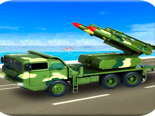 Us Army Missile Attack Army Truck Driving Games
