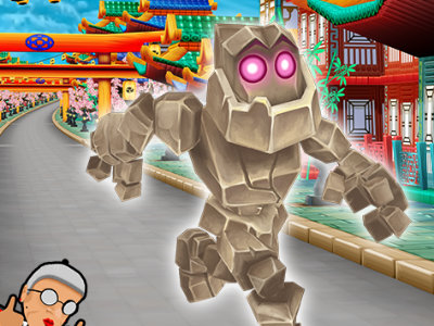 Angry Gran Run: Japan