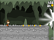 Cave running volcano