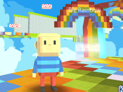 Kogama: Rainbow Parkour