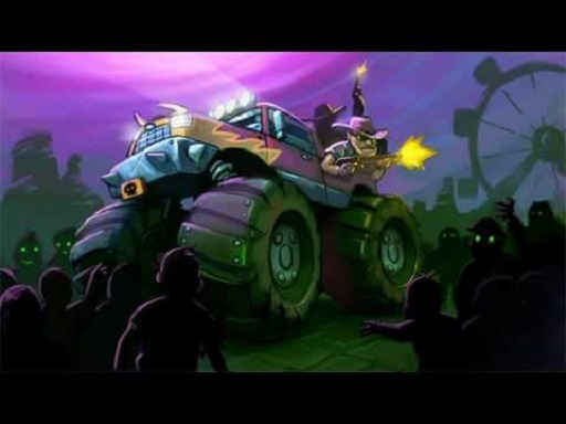 Zombie Smash : Monster Truck Racing Game
