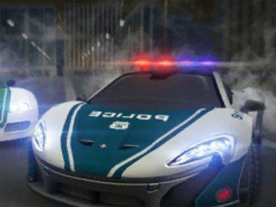 Dubai Police Supercar Rally