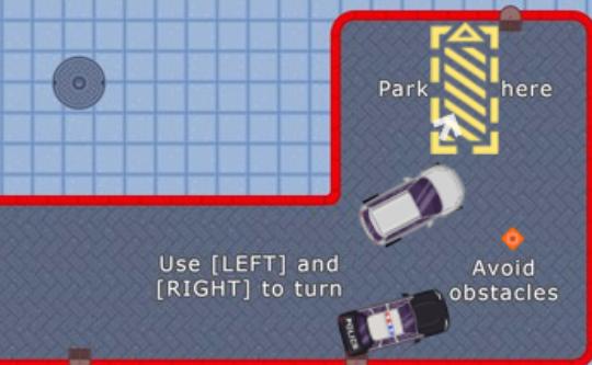 Funky Valet Parking