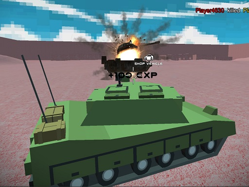 Helicopter And Tank Battle Desert Storm Multiplayer