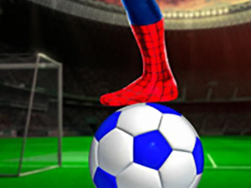 SuperHero Spiderman Football Soccer League Game