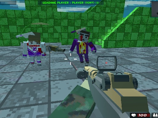 Survival Shooting Xtreme Crazy Pixel Combat