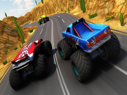 Xtreme Monster Truck & Offroad Fun Game